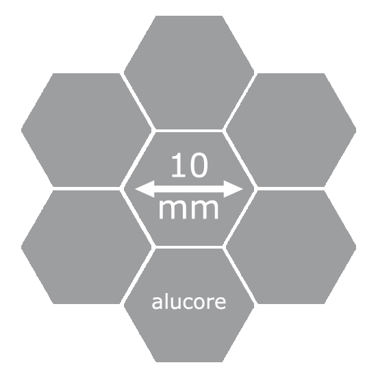 alucore icon 10mm